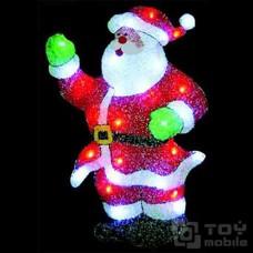 Светодиодное панно «Санта Клаус» (30x55см,29 диодов)