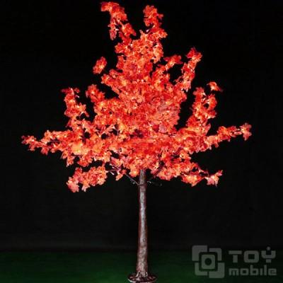 Светодиодный «Клён» имитация под дерево, керамика 768LED (180см)