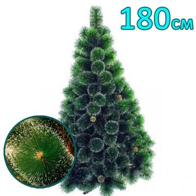 Искусственная елка, сосна «Снежная королева» белые иголки (180см)