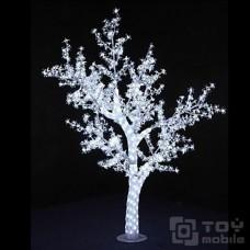 Светодиодное дерево «Сакура» акриловый ствол 768 ламп (180см)