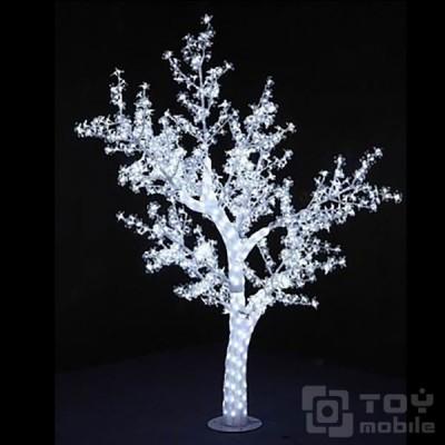 Светодиодное дерево «Сакура» акриловое 768LED (180см)