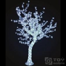 Светодиодное дерево «Сакура» акриловый ствол 1152 лампы (250см)
