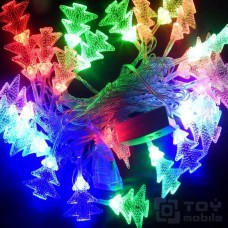 Гирлянда с насадками – елочка 40 ламп