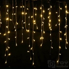 Уличная гирлянда бахрома 120 ламп (3м/0,75)