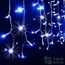 Уличная гирлянда бахрома 100 ламп (2м/0,5, флеш)