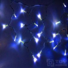 Уличная гирлянда бахрома 130 ламп (3м/0,76, IP65, резина)