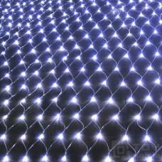 Светодиодная сетка 280 ламп (2х2м, прозрачный провод)