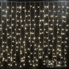 Светодиодный занавес 450 ламп (3х2м, прозрачный провод)
