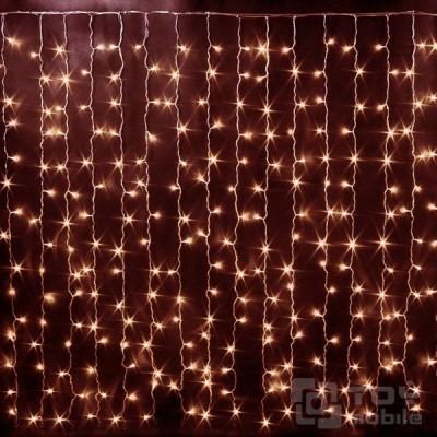 Светодиодная гирлянда дождь, занавес 544 LED (1,5x2,2м.)