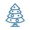 Искусственные новогодние елки, ели, сосны