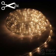 Дюралайт светодиодный двух проводной (1м,2W,11мм, IP65)
