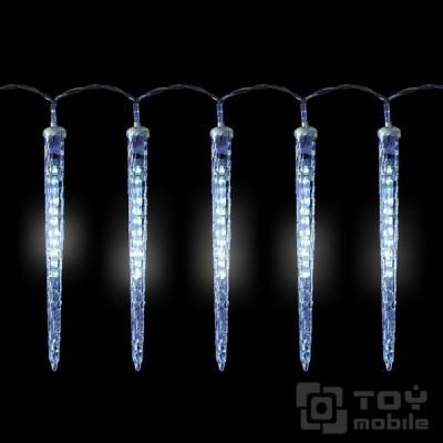 Гирлянда тающие сосульки – 8 сосулек по 30см. 96LED