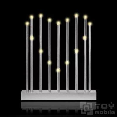 Светильник «Сердце» из 16 светодиодных свечей