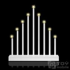 Рождественская горка (9 свечей)