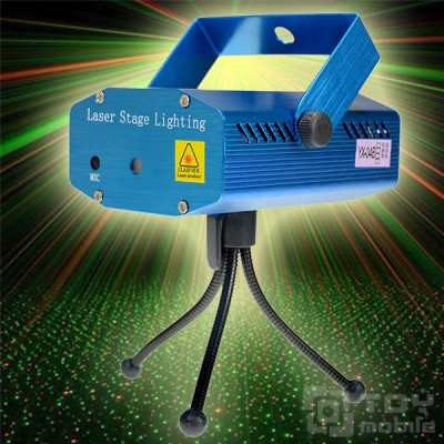 Лазерный проектор цветомузыка - Laser Stage Lighting