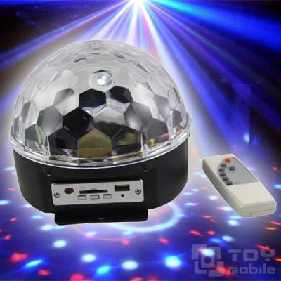 Диско шар цветомузыка Magic Ball