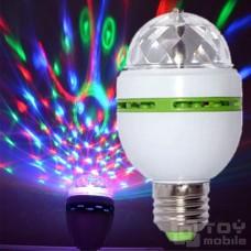 Светодиодная лампочка «Диско» (Е27)